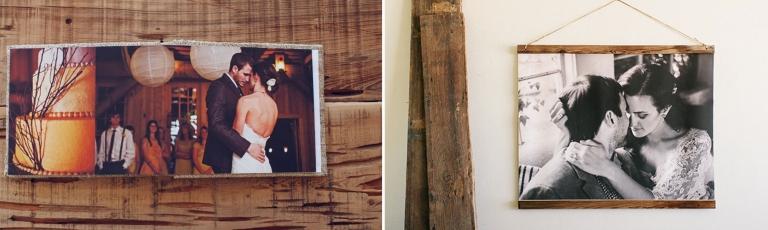 Wedding Album and Woodland Wall Hanging