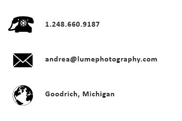 Lume Photography, Goodrich MI