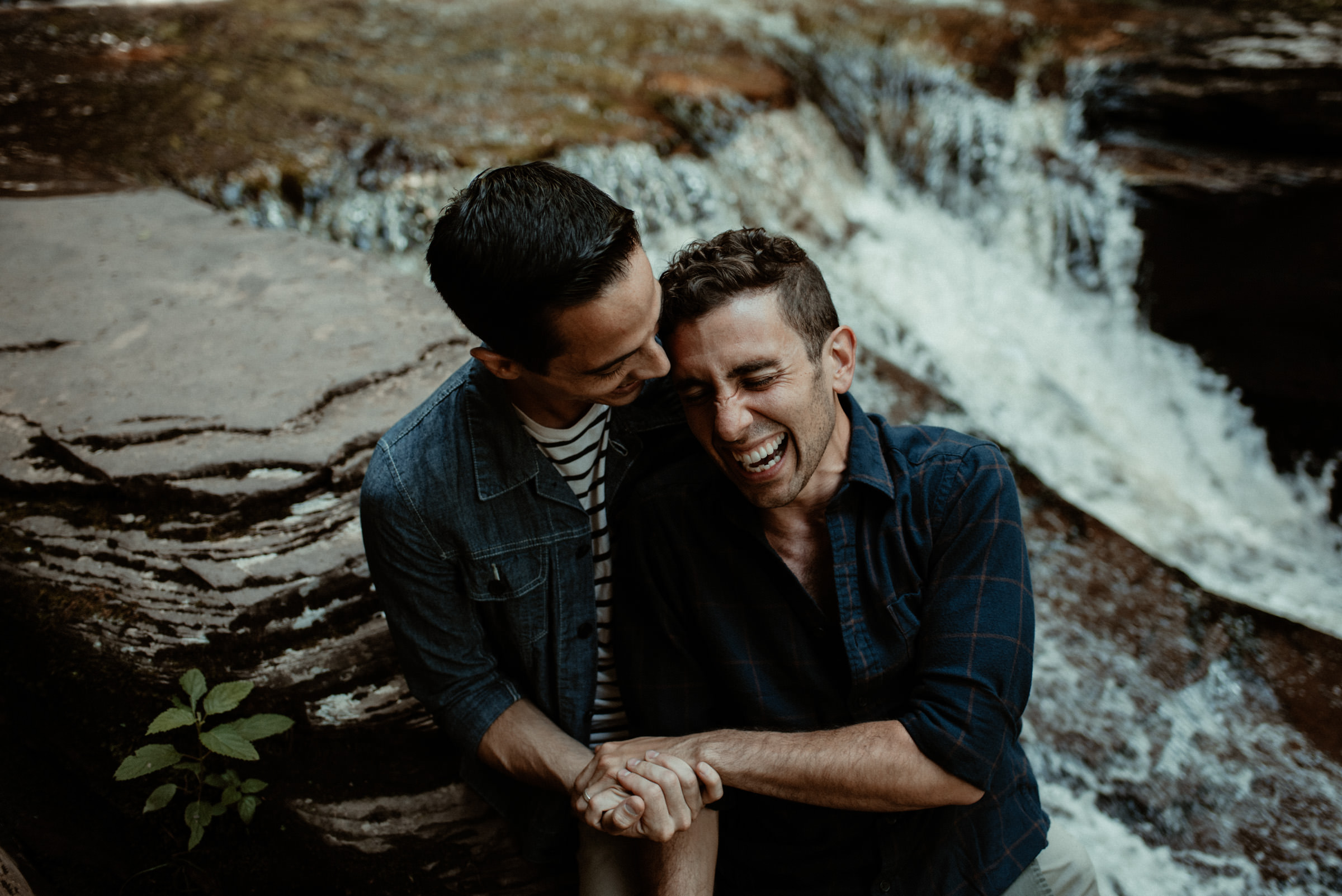 Pennsylvania LGBT Gay Couples Portrait Session