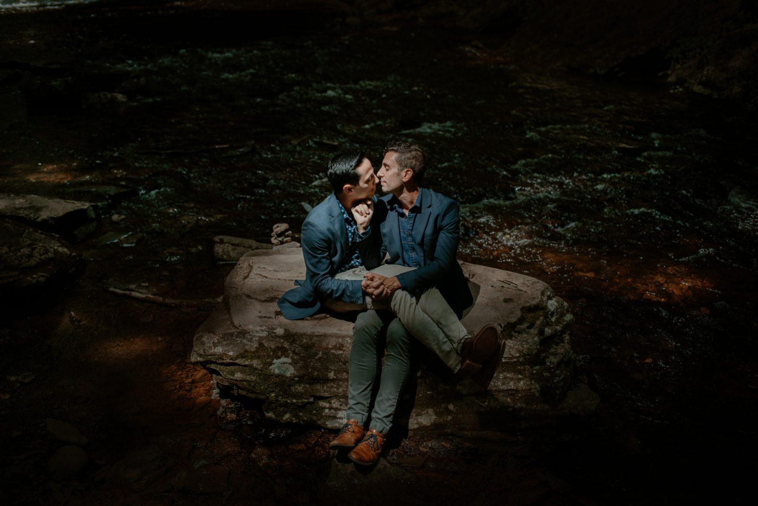 Pennsylvania LGBT Gay Couples Portrait Session