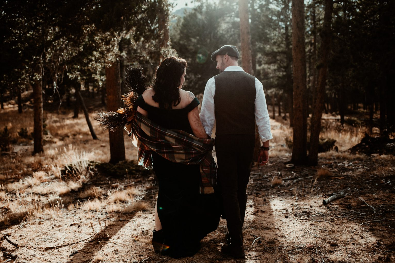 Colorado Elopement at Lily Lake