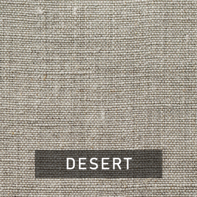 desert luxe linen swatch (tan)