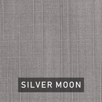 silver moon fabric swatch (silver)