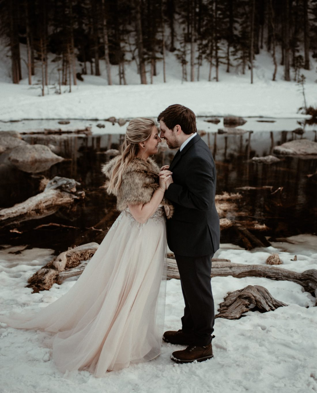 Elopement in the Rocky Mountain National Park in Colorado