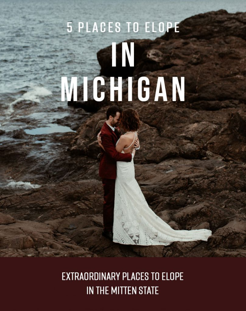 5 places to elope in Michigan cover photo