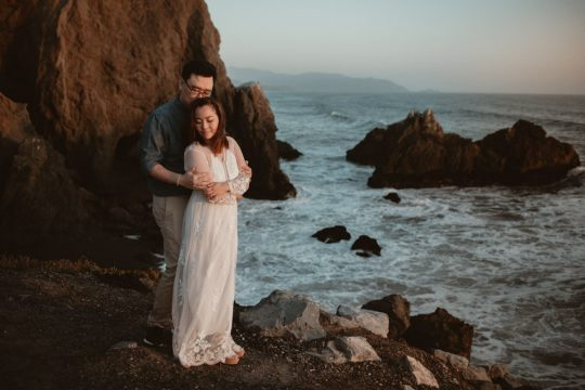 California elopement on the coast