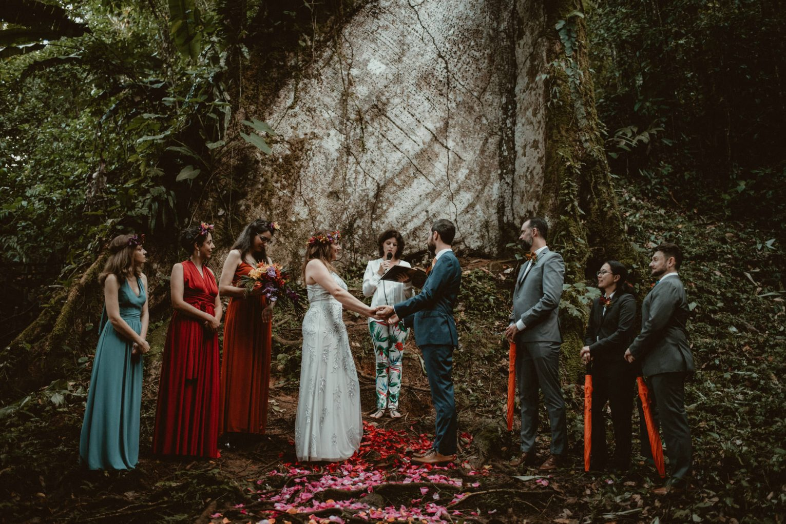 Rainforest Costa Rica destination wedding