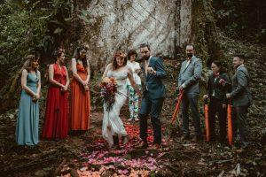 Rainforest Costa Rica destination wedding