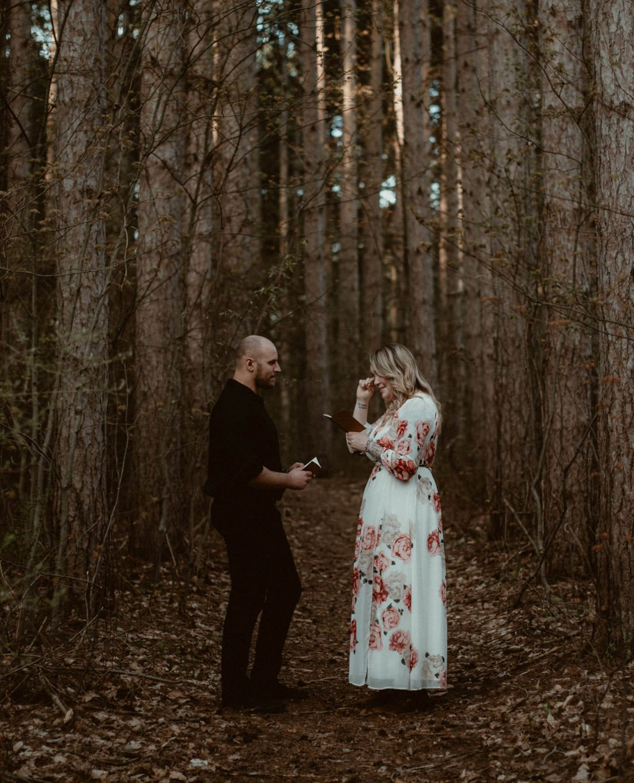 Proud Lake State Rec elopement