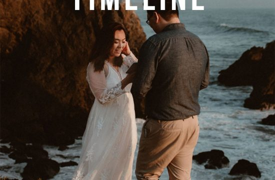 Sample elopement timeline cover