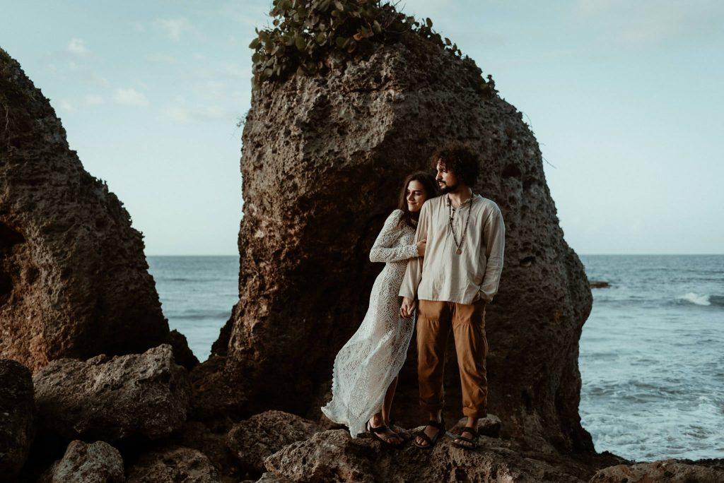 Elopement couple in Puerto Rico