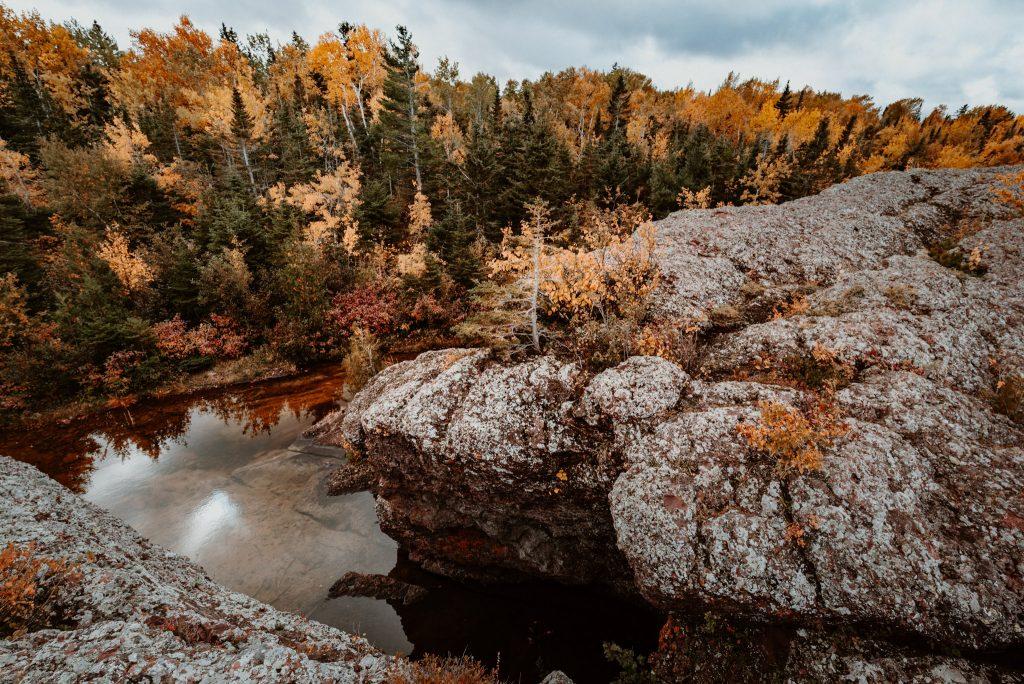 Amazing landscape in Michigan's Upper Peninsula