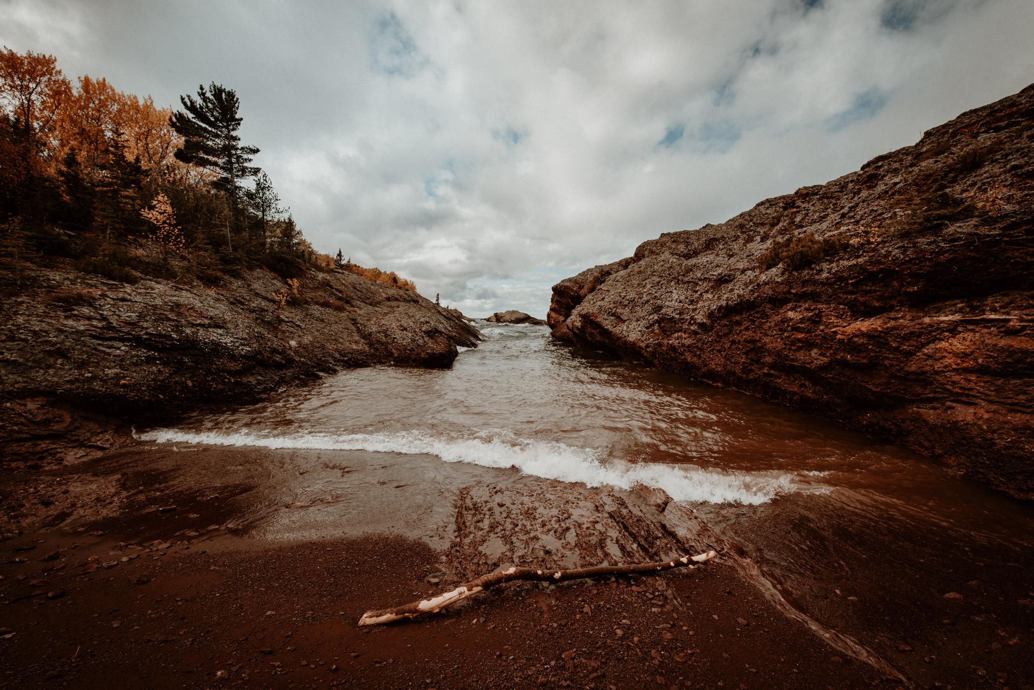 Shoreline near Copper Harbor, Michigan